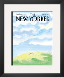 The New Yorker Cover - August 17, 1998 Framed Giclee Print by Jean-Jacques Sempé