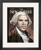 The New Yorker Cover - January 26, 2009 Framed Giclee Print by Drew Friedman
