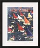 The New Yorker Cover - August 9, 1952 Framed Giclee Print by Garrett Price