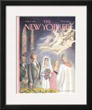The New Yorker Cover - June 15, 1998 Framed Giclee Print by Edward Sorel