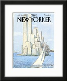 The New Yorker Cover - July 19, 1982 Framed Giclee Print by Arthur Getz