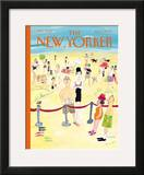 The New Yorker Cover - August 7, 2000 Framed Giclee Print by Maira Kalman
