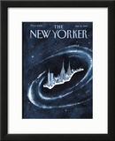 The New Yorker Cover - January 10, 2000 Framed Giclee Print by Mark Ulriksen