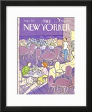 The New Yorker Cover - August 3, 1992 Framed Giclee Print by Devera Ehrenberg