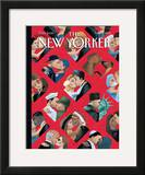 The New Yorker Cover - February 14, 2000 Framed Giclee Print by Mark Ulriksen