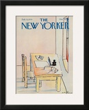 The New Yorker Cover - February 12, 1979 Framed Giclee Print by Andre Francois