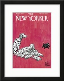 The New Yorker Cover - March 23, 1935 Framed Giclee Print by Peter Arno