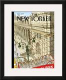 New Yorker Cover - September 19, 2011 Framed Giclee Print by David Macaulay