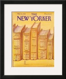 The New Yorker Cover - March 15, 1982 Framed Giclee Print by Eugène Mihaesco