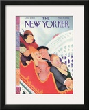 The New Yorker Cover - July 8, 1933 Framed Giclee Print by William Cotton