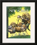 The New Yorker Cover - May 15, 2006 Framed Giclee Print by Carter Goodrich