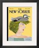 The New Yorker Cover - March 14, 2005 Framed Giclee Print by Maira Kalman