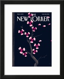 The New Yorker Cover - March 28, 2011 Framed Giclee Print by Christoph Niemann