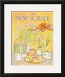 The New Yorker Cover - December 27, 1982 Framed Giclee Print by Jenni Oliver