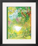 The New Yorker Cover - April 17, 2006 Framed Giclee Print by Jean-Jacques Semp&#233;