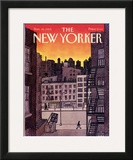The New Yorker Cover - November 25, 1985 Framed Giclee Print by Roxie Munro