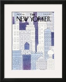 The New Yorker Cover - January 28, 1980 Framed Giclee Print by John Norment