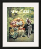The New Yorker Cover - May 15, 2000 Framed Giclee Print by Carter Goodrich