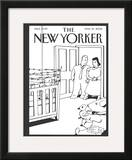 The New Yorker Cover - March 27, 2006 Framed Giclee Print by Bruce Eric Kaplan
