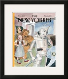 The New Yorker Cover - November 16, 1998 Framed Giclee Print by Barry Blitt