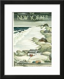 The New Yorker Cover - April 2, 1949 Framed Giclee Print by Edna Eicke