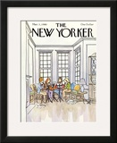 The New Yorker Cover - March 3, 1980 Framed Giclee Print by Arthur Getz