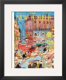 The New Yorker Cover - June 24, 1950 Framed Giclee Print by Ludwig Bemelmans