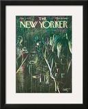 The New Yorker Cover - December 2, 1972 Framed Giclee Print by Arthur Getz