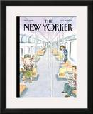 The New Yorker Cover - October 26, 2009 Framed Giclee Print by John Cuneo