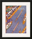 The New Yorker Cover - June 25, 1927 Framed Giclee Print by Ilonka Karasz