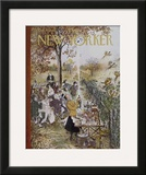 The New Yorker Cover - October 20, 1962 Framed Giclee Print by Mary Petty