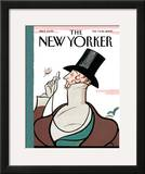 The New Yorker Cover - February 9, 2009 Framed Giclee Print by Rea Irvin