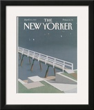 The New Yorker Cover - April 13, 1987 Framed Giclee Print by Gretchen Dow Simpson