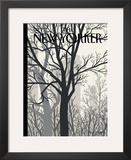 The New Yorker Cover - January 23, 2012 Framed Giclee Print by Jorge Colombo