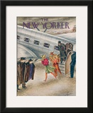 The New Yorker Cover - March 1, 1941 Framed Giclee Print by Constantin Alajalov