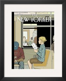 The New Yorker Cover - November 8, 2004 Framed Giclee Print by Adrian Tomine