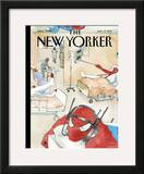 The New Yorker Cover - January 17, 2011 Framed Giclee Print by Barry Blitt