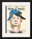 The New Yorker Cover - October 30, 2000 Framed Giclee Print by Barry Blitt