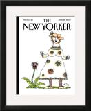 The New Yorker Cover - April 28, 2008 Framed Giclee Print by William Steig