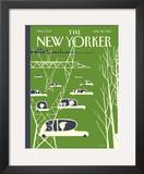 The New Yorker Cover - April 26, 2010 Framed Giclee Print by Frank Viva