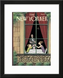The New Yorker Cover - May 10, 1999 Framed Giclee Print by Harry Bliss
