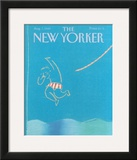 The New Yorker Cover - August 7, 1989 Framed Giclee Print