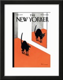 The New Yorker Cover - October 30, 2006 Framed Giclee Print by Ian Falconer