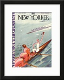 The New Yorker Cover - June 15, 1935 Framed Giclee Print by Garrett Price