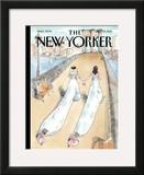 The New Yorker Cover - July 25, 2011 Framed Giclee Print by Barry Blitt