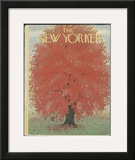 The New Yorker Cover - October 18, 1952 Framed Giclee Print by Edna Eicke