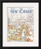 The New Yorker Cover - July 27, 1981 Framed Giclee Print by Arthur Getz