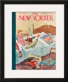 The New Yorker Cover - December 26, 1936 Framed Giclee Print by Perry Barlow