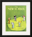 The New Yorker Cover - August 17, 1987 Framed Giclee Print by Charles Saxon