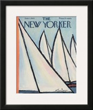 The New Yorker Cover - June 1, 1963 Framed Giclee Print by Abe Birnbaum